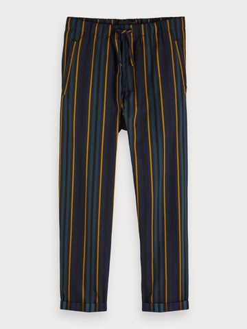 Striped Trousers in Blue