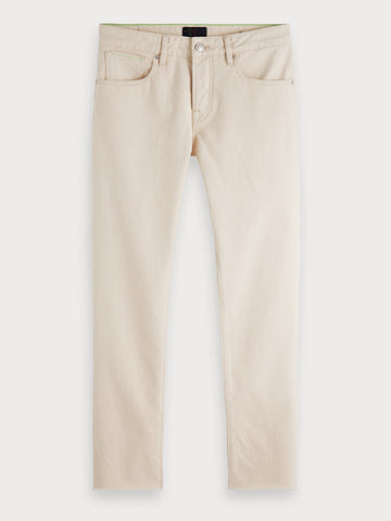 Lot 22 Ralston Cropped | Regular slim fit in Beige