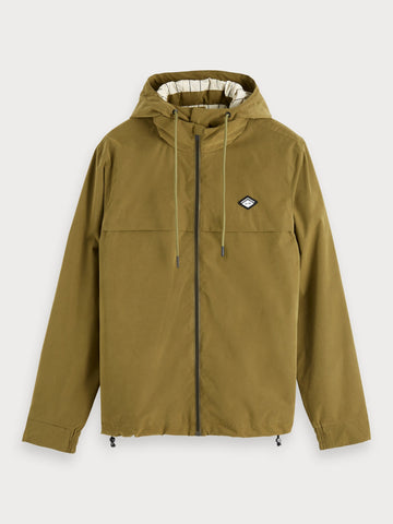 Lightweight Peached Jacket in Green