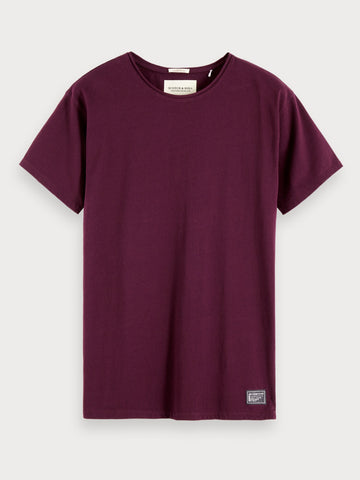 Organic Cotton T-Shirt in Purple