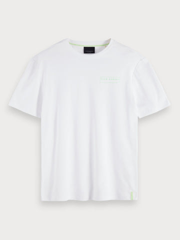 Basic Short Sleeved T-Shirt in White