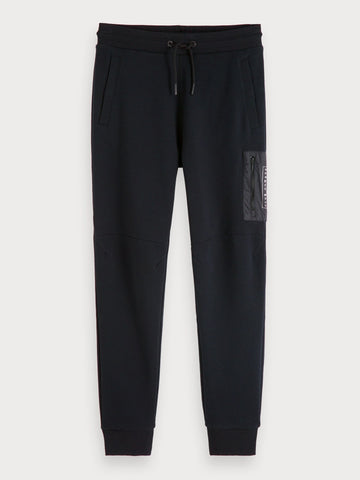 Regular Fit Sweatpants in Black