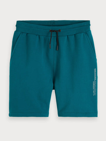 Clean Sweat Shorts in Blue
