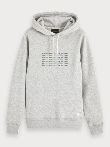 Clean Basic Hoodie in Grey