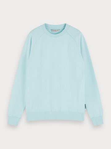 Crew Neck Sweatshirt in Blue