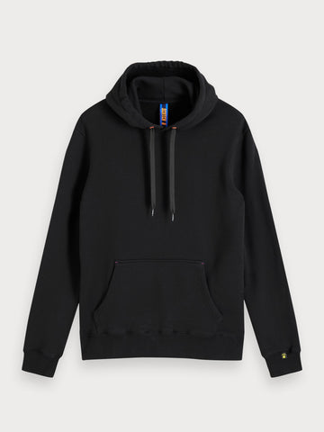 Gradient Artwork Hoodie in Black