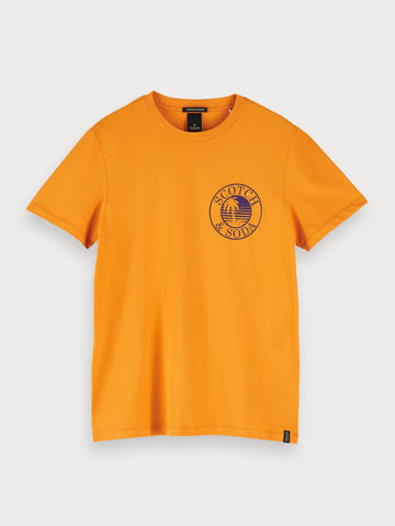 Logo T-Shirt in Orange