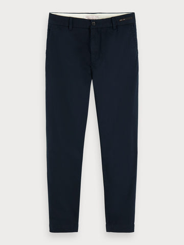 Fave - Twill Chinos | Regular tapered fit in Black