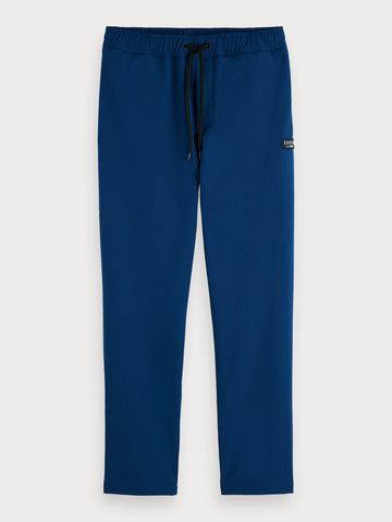 Stretch Nylon Joggers in Blue