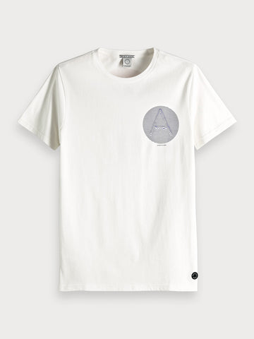 Artwork T-Shirt in White