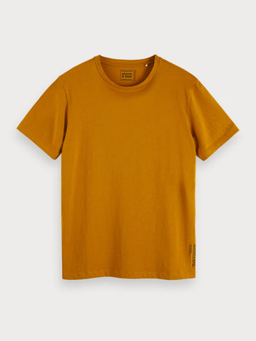 Basic Jersey T-Shirt in Brown