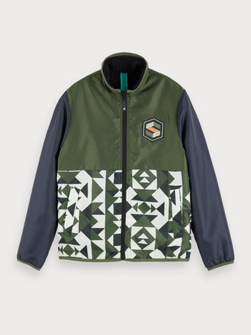 Reversible Jacket in Blue