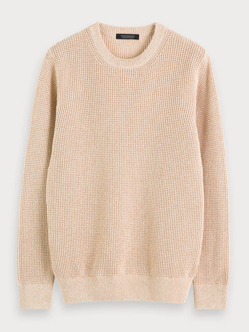 Recycled Sweater in Beige