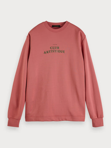 Clean Sweatshirt in Pink