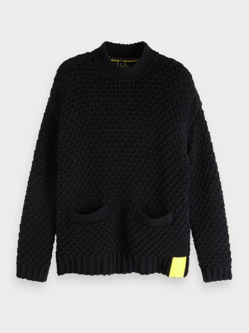 Chunky Sweater | Lot 22 in Black