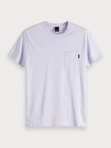 Basic T-Shirt in Faded Lavender