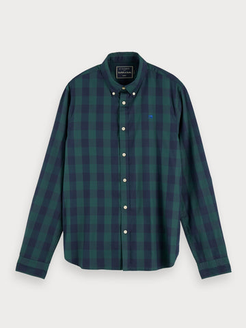 Gingham Shirt | Regular fit in Blue