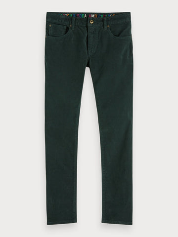 Ralston - Corduroy Jeans | Regular slim fit in Green