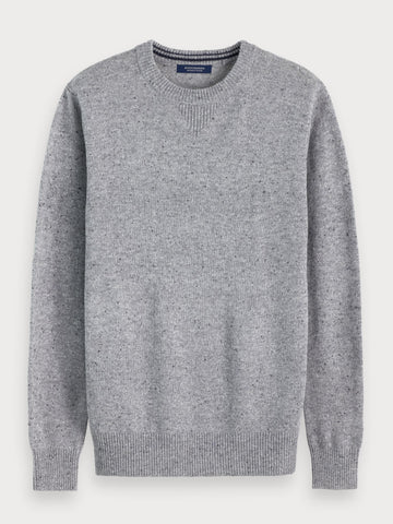 Nepped Sweater in Grey