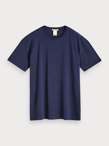 Organic Cotton Logo T-Shirt in Blue