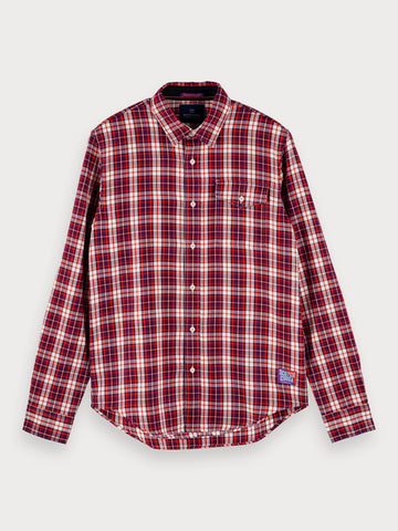 Checked Shirt | Regular fit in Red