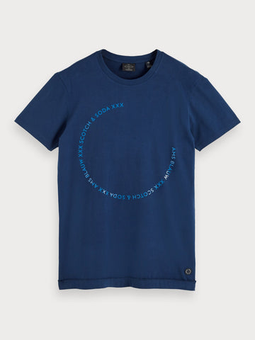 Inside-Out T-Shirt in Blue