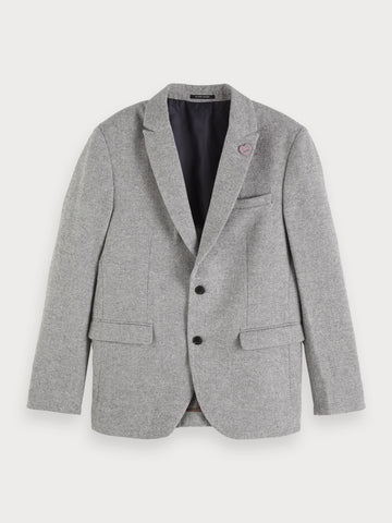 Peak Lapel Blazer | Regular fit in Grey