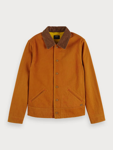 Moleskin Jacket in Brown