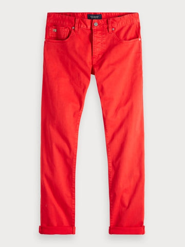 Ralston - Garment Dyed | Regular slim fit in Red