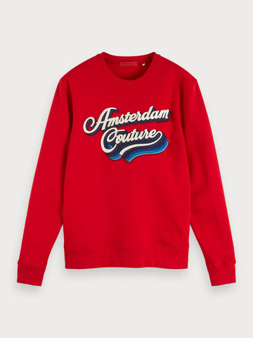 Logo Sweatshirt in Red