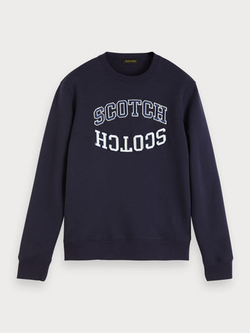 Logo Sweatshirt in Blue