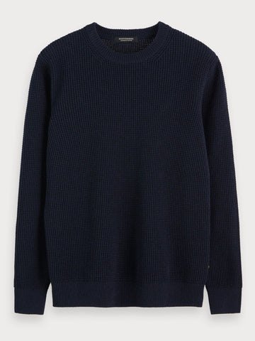 Recycled Sweater in Blue