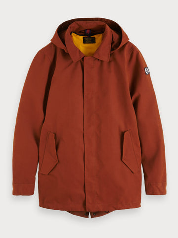 2-In-1 Parka in Brown