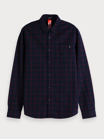 Checked Shirt | Regular fit in Black