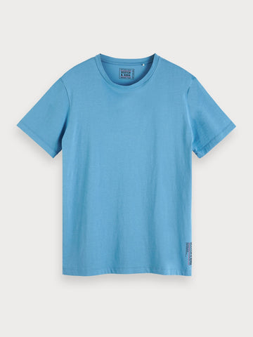 Basic Jersey T-Shirt in Blue