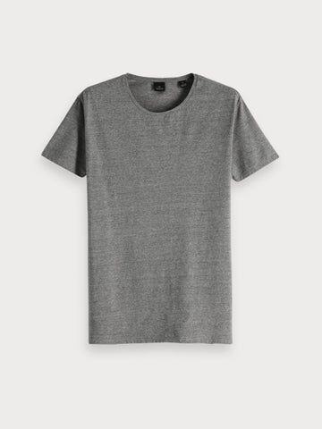 Crewneck Tee in Grey