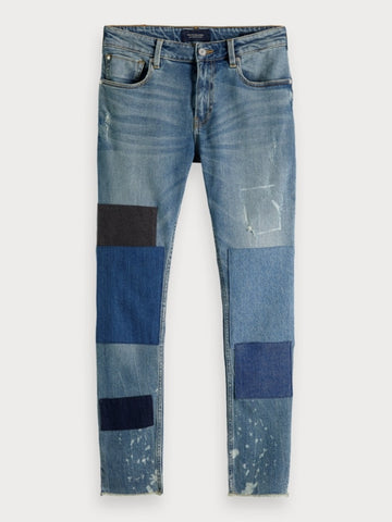 Skim Cropped - Make A Splash | Skinny fit in Blue