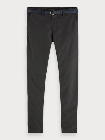 Mott - Garment Dyed Chinos | Super slim fit in Grey