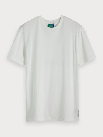 Basic Pique T-Shirt in White