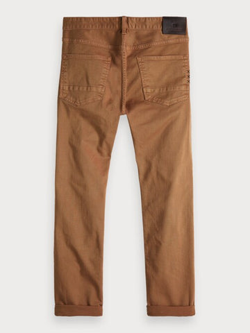 Ralston - Garment Dyed | Regular slim fit in Brown