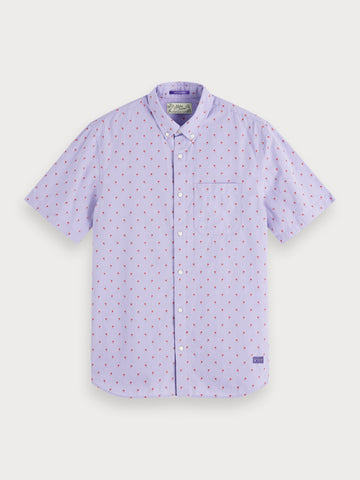 Fil Coupe Shirt | Regular fit in Purple