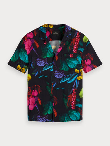 Digital Print Shirt | Hawaii fit in Multi