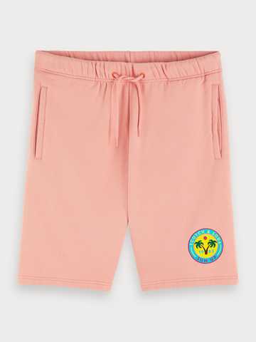 Relaxed Sweat Shorts in Pink