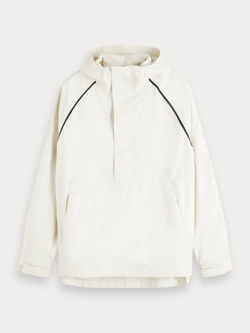 Recycled Anorak in White