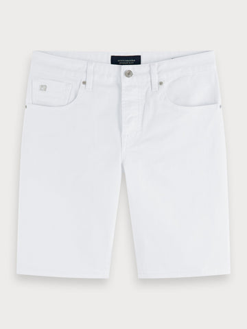 Ralston Short - Tobacco | Slim Fit In White