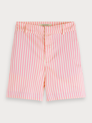 Pink Striped Shorts in Combo S
