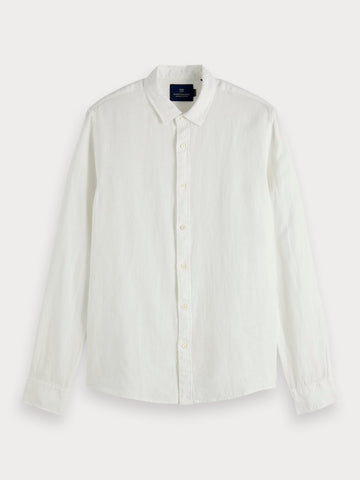 Linen Shirt | Regular fit in White