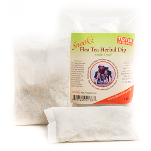 6) Snook's Flea Tea herbal Dip