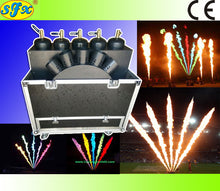 18L  Fan shape super color flame projectors 8 to 10meters height effect - Kesheng special effect equipment