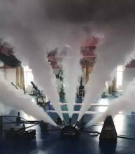 Five Finger CO2 Cannon  90V/240V High Quality 5 Heads Stage DMX CO2 Jet Machine For Party,Event,Stage Light - Kesheng special effect equipment